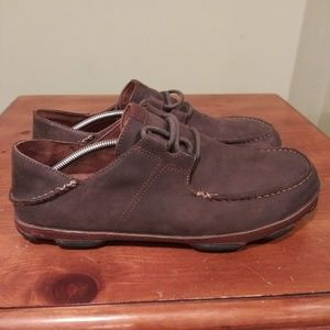 Other - Olukai Mens Leather Loafers Size 12